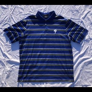 Tiger Woods Nike Phillies Polo Shirt Men's Size XL